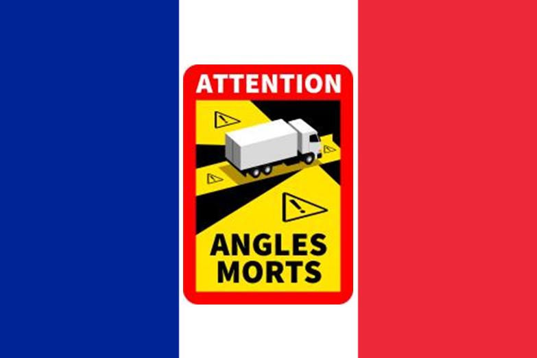 Kennzeichnungspflicht für den toten Winkel,toter Winkel Kennzeichnungspflicht,Frankreich führt...png