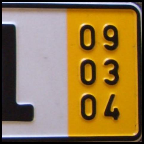 Kurzzeitkennzeichen,gelbes Kennzeichen,5-Tage-Kennzeichen,Ersatz für rotes Kennzeichen,Überfüh...png